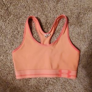 Under Armour Coral Sports Bra